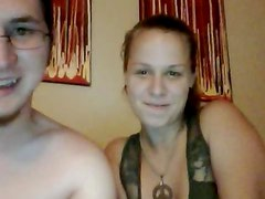Horny Couple Banging in a Very Hot Webcam Sextape