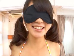 Aoi Mikuriya gets Blindfolded and Hardcore Banged