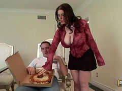 Cooking up A Hardcore Fuck With The Busty Daphne Rosen