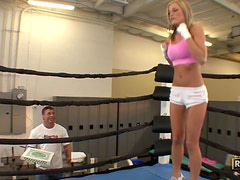 McKenzee Miles Sure knows How To Knockout