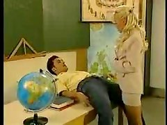 Mature Kelly Trump Teaches Sex (amateur mother mom milf granny teacher student classroom )