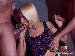 Private com - Sophie Roche Gets Hardcore Gangbang