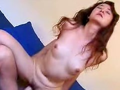 Lonely and gorgeous Rumi with awesome sex tool
