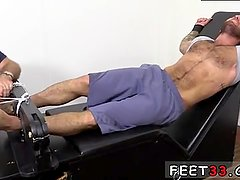 hot gay feet first time Chase