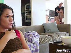 Shy compeer's daughter hot mom helps get