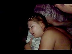 drunk real amature Chav slut swingers fucked mmf