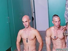 Military men with penis piercings and male