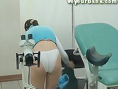 Camera at the gynecologist 30