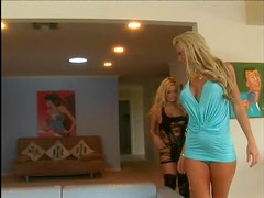 Blonde Lesbians With Dildos And A Lot Of Orgasms