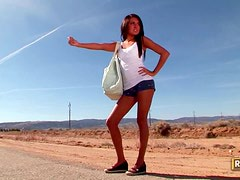 Lexi Diamond Gets Incredibly Horny During Roadtrip