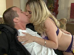 Angela Attison Picks a Lucky Prick up and has Her Way With Him!