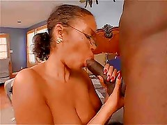 Hairy Ebony Mom Gets What She Wants