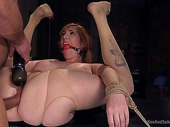 Hot Young Latin Whore Suffering