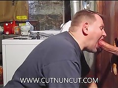 Super Hung Fat Cock In The Gloryhole