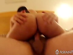 Threeway with sexy Asian chicks