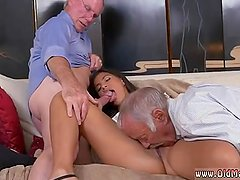 Teen massage by old man Going South Of The