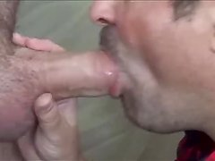 Blowing Thick Cut Cock Daddy