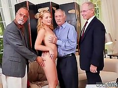 Very old granny creampie Frannkie And The