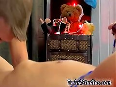 Gay twinks wearing stockings and wig xxx