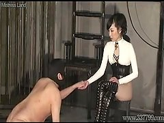 Ponyboy has to Serve Japanese Femdom