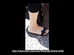Candid arabic feet 03