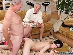 Old mature young woman anal Frannkie goes