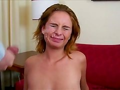 FRECKLES: A REDHEAD CUMSHOT COMPILATION