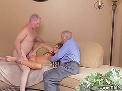 Fat old woman fuck and gray hairy pussy So