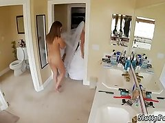 Handjob cumshot Bridesmaids