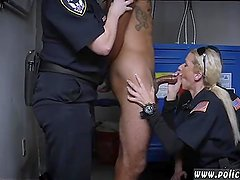 Skinny blonde double penetration first time