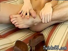 Gay men takes foot long dick in them and