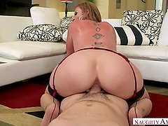 Sara Jay Riding On Her Driver