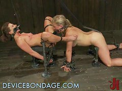 Double the Fun With Two Blonde Babes And Many BDSM Games