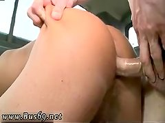 Young straight guy first anal gay Doing the