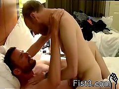 Gay sex with mature  military men