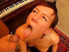 German couple fucking at home on cam
