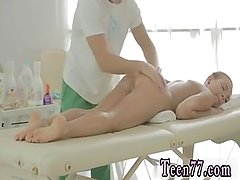 Crazy teen hd first time Massage completes