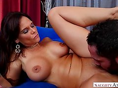 Mature MILF Syren De Mer Horny Step Mom loves hardcore sex with step son