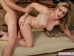 Mature MILF Cory Chase Adorable Step Mom loves hard dicks