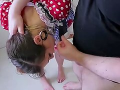 Petite puppet girl strung - Part2 on