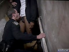 Gay cops big ass Suspect on the Run, Gets