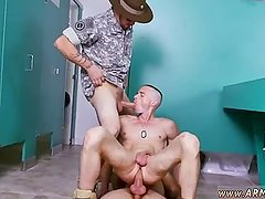 Army men wanking his cock hot military