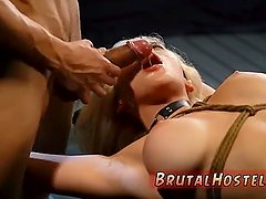 Dirty slut takes it rough Big-breasted
