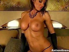 Abby Marie (Fitness Milf in Corset and Stocking)