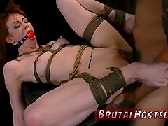Hd extreme dp hot anal bondage Sexy young