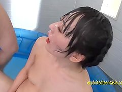 Ikumi Kuroki Pissed On By 20 Guys She Baths In Piss Drinks It