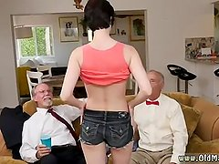 Old man licks young girl Frannkie goes and