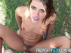 PropertySex - High school teacher fucks hot real estate agent