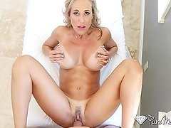 PureMature After tennis lesson fuck and facial with MILF Brandi Love