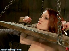 Insanely Gorgeous Redhead Loves Getting Tortured